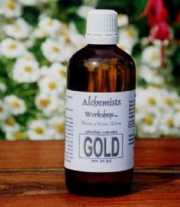 Half LITER of PURE GOLD -500ml. Ultrafine Colloidal Gold for Nerves, Stress Relief, Neural Pain SAVE